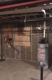 Water Heater in Basement