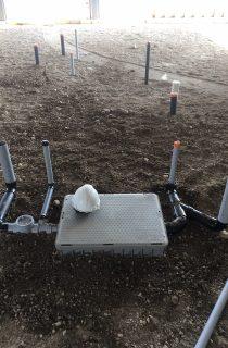 Grade level installation
