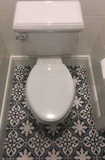 Classic look bathroom toilet